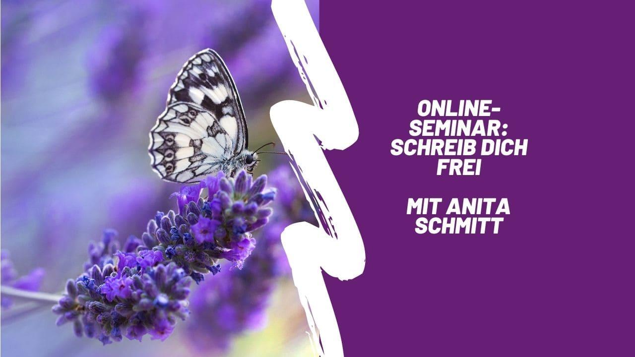 """Online-Seminar """"Schreib dich frei!"""""""