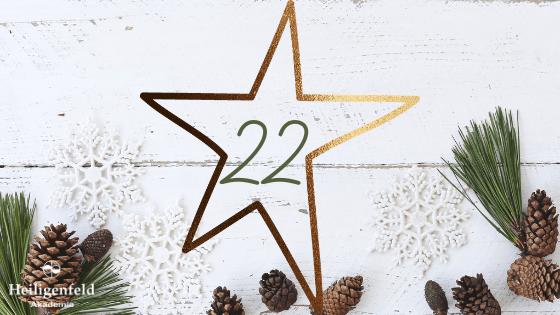 Adventskalender Weihnachten Schreib dich frei