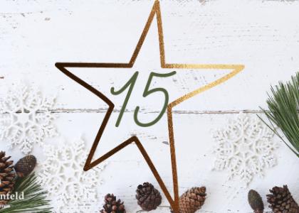 Adventskalender Weihnachten Visionboard