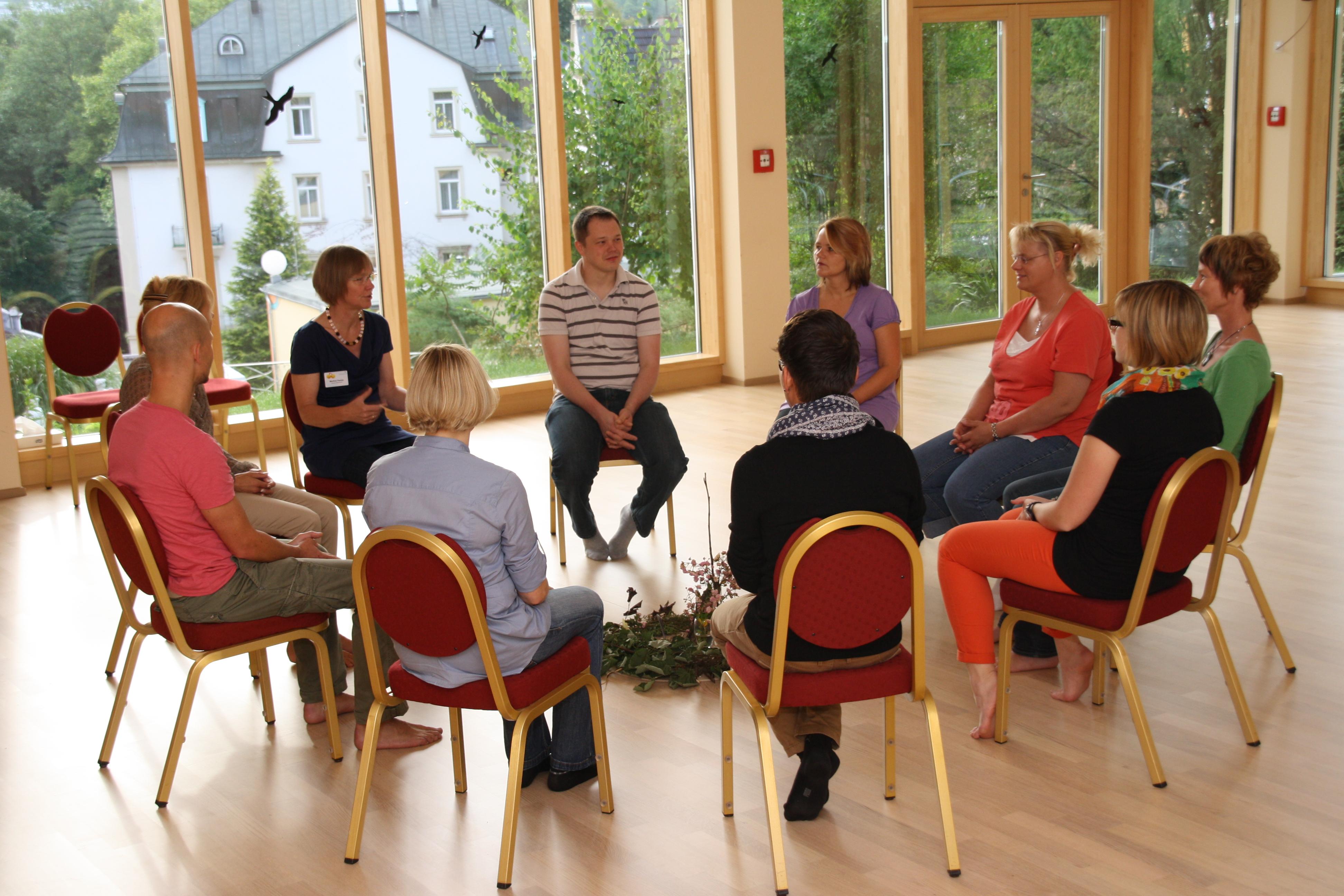 Therapeutische Arbeit mit Gruppen